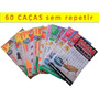 Kit 60 Revistas Caça Palavras Sem Repetições