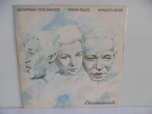 Lp Vinil - Agostinho Dos Santos Sylvia Telles Ataulfo Alves Original