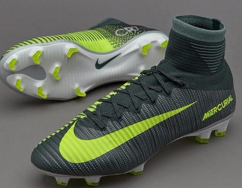 Chuteira Nike Mercurial Superfly V Cr7 Botinha Pronta Entreg à venda ... bac7fa98c8217