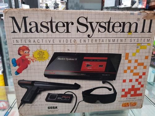 Master System 2 Usado Na Caixa Tec Toy Original