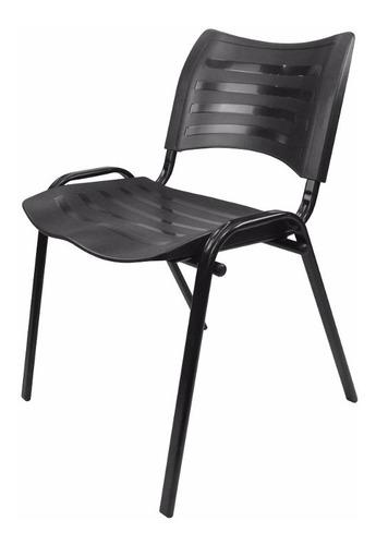 Cadeira Iso Plástica Empilhável Igrejas, Escola, Auditório Original