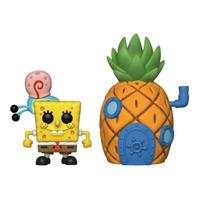 Funko Pop Town Spongebob with Gary & Pineapple House #02 - Bob Esponja - Animation