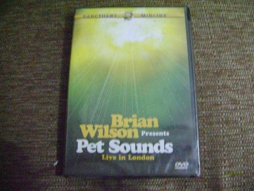 Dvd Brian Wilson Presents Pet Sounds Live In London Original