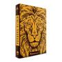 Biblia Jesus Copy Lion Dourado Luxo Nvi
