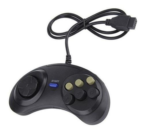 Controle Mega Drive Master System Sega Tec Toy Pronto Envio Original