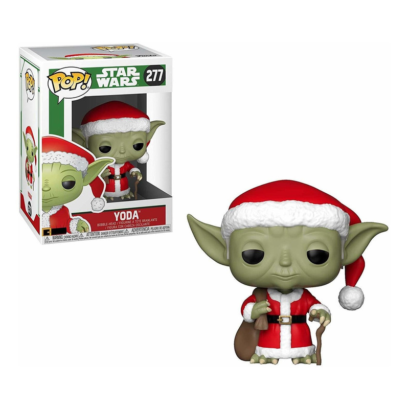 Holiday Yoda Pop Funko #277 - Yoda Natal - Star Wars