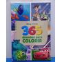 Livro Disney Pixar Toy Store 3 Livro 365 Desenhos P Colorir