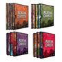 Coleção Agatha Christie Box 1, 2, 3 E 4 Capa Dura (12livros)