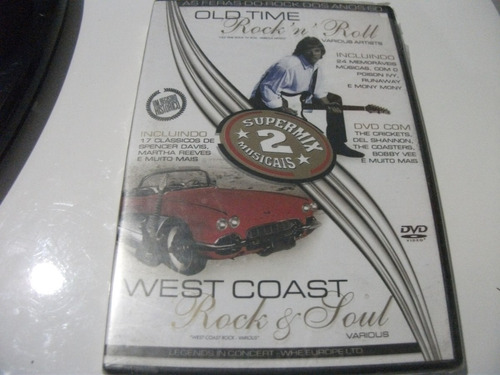 Dvd Old Time Rockn Roll  West Coast Supermix 2 Musicais Lacr Original