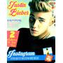 Revista Pôster Justin Bieber 2 Poster S/ Camisa Espelho Hood