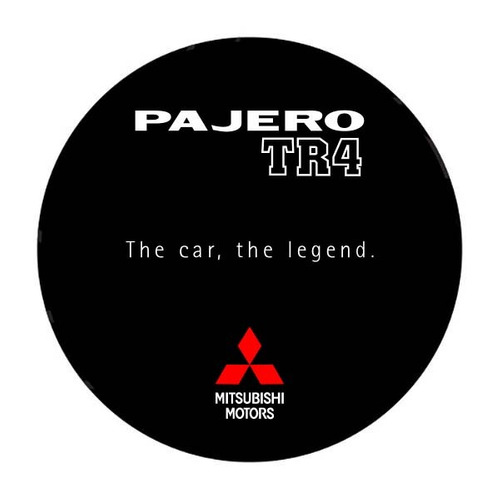 Capa De Estepe Pajero Tr4 The Car, The Legend S35