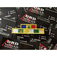 Medalha Bordada 10/20 Anos/Alferes