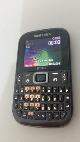 Celular Samsung Trios Gt-e1263b Defeito Original