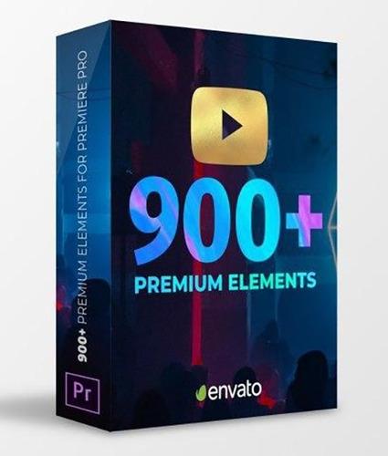 Pack 900 Transições Para Youtubers P/ Premiere Pro Original