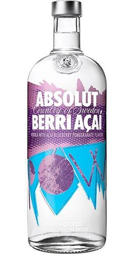 Vodka  Absolut Sabor Açai  1l Original