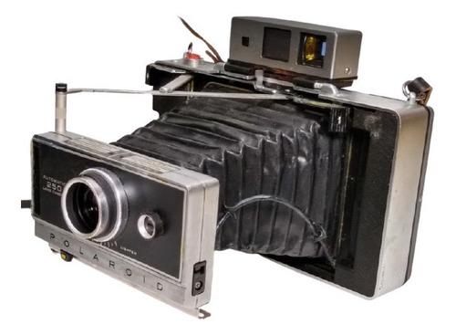 Máquina Fotográfica Polaroid Automatic 250 Land Leia 3447 Original