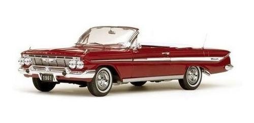 1961 Chevrolet Impala Vermelho - 1:18 - Sun Star S/ Juros Original