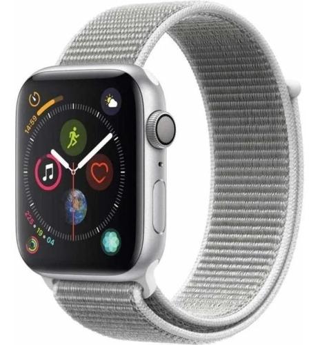Apple Watch Series 4 44mm Silver Seashell Loop Com Nf A13154 Original