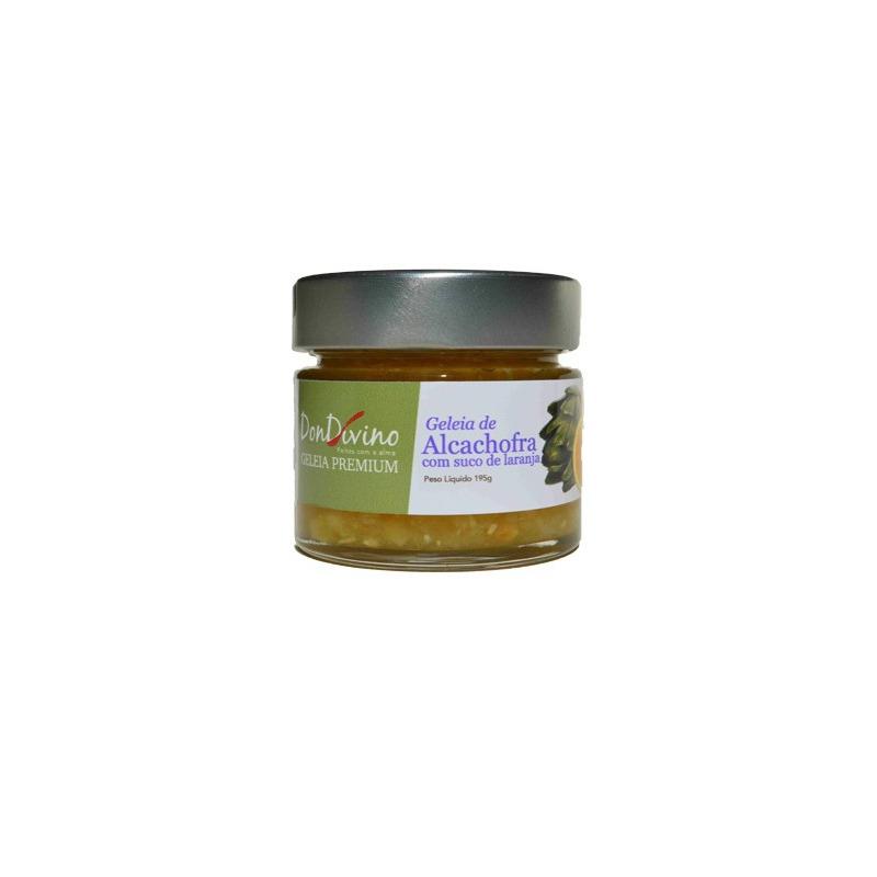 Geleia de Alcachofra com Suco de Laranja 190g  - Don Divino