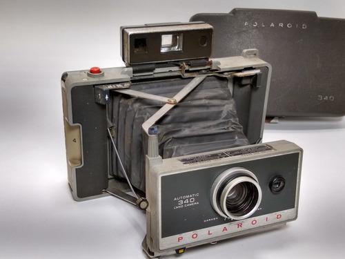 Máquina Fotográfica Polaroid Automatic 340 Land Leia L 3441 Original