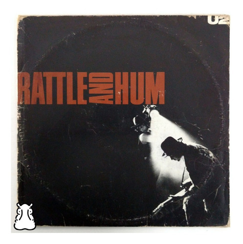 Lp U2 Rattle And Hum Disco De Vinil 1988 Duplo Com Encartes Original