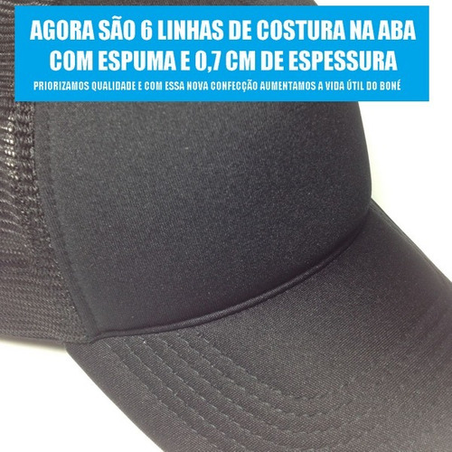 e2249116a516a ... comprar Boné Trucker Tela Telinha Aba Curva Justin Bieber Neymar Top ...