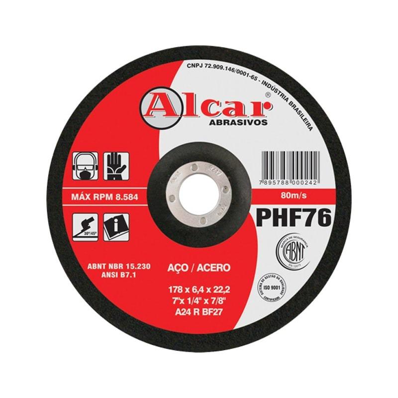DISCO DE DESBASTE 115X4.8X22 PHF-46 ALCAR