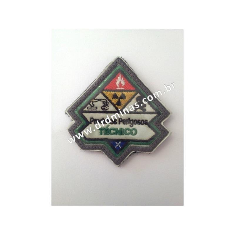 Patch / Distintivo Bordado Produtos Perigosos - I