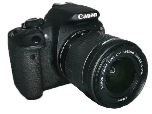 Câmera Canon T5i Seminova Lente 18 55 Perfeita Original