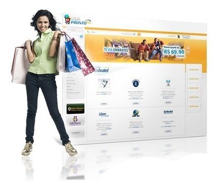 Criação De Loja Virtual Completa Sistema De Ecommerce Original