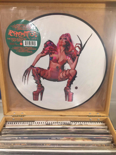 Lp Disco Vinil Lady Gaga Chromatica Picture Disc Europeu Original