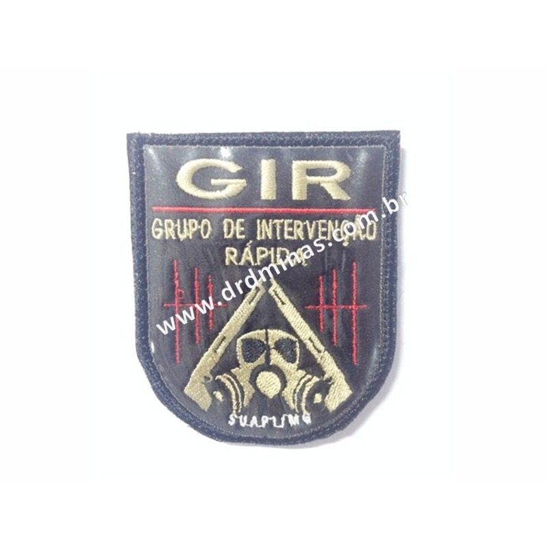 Distintivo Bordado GIR  -IV