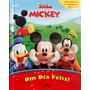 Livro Miniatura A Casa Do Mickey Mouse Brinde Livro