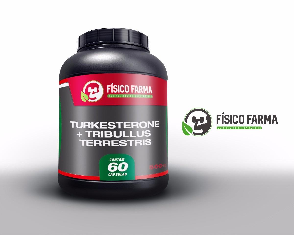 Turkesterone 200mg + Tribulus  300mg 90 cápsulas