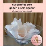 Casquinhas artesanais sem glúten e sem açúcar - embalagem com 6 unidades /sem contaminação cruzada -segura para celíacos e alérgicos. R$ 26,00
