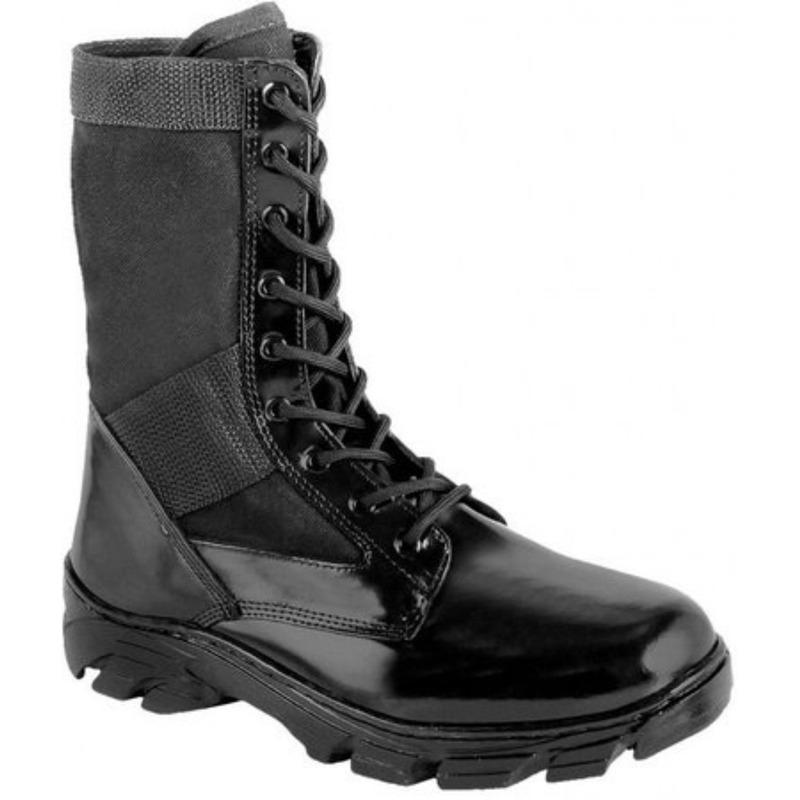 Coturno Militar Extra Leve Couro - Force Militar