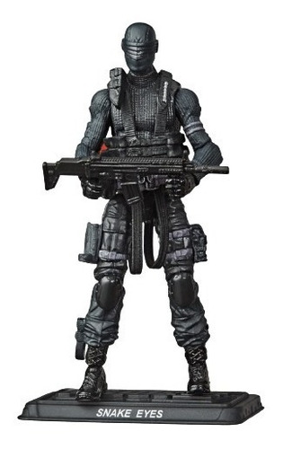 G.i. Joe Boneco Serie Retro Snake Eyes - Hasbro E8857 Original