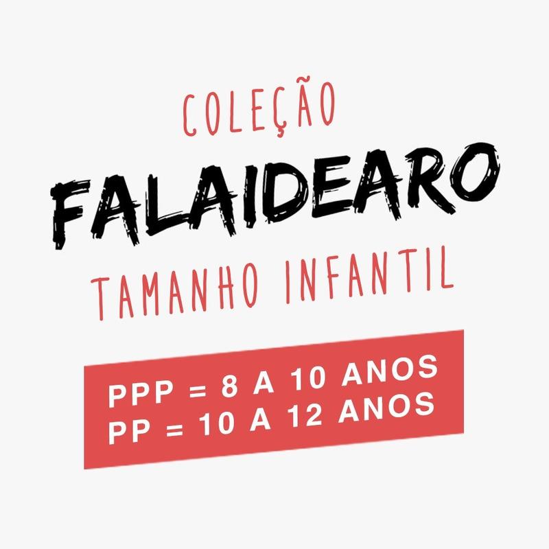 CAMISETA PRETA - FALAIDEARO NOMES
