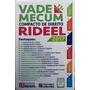 Mini Vade Mecum Compacto Rideel De Direito 2017 13ª Ed.