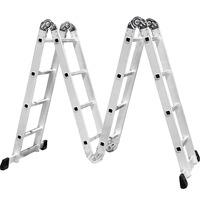 Escada Multifuncional de Alumínio 4x3 - F-4*3 - Infinity