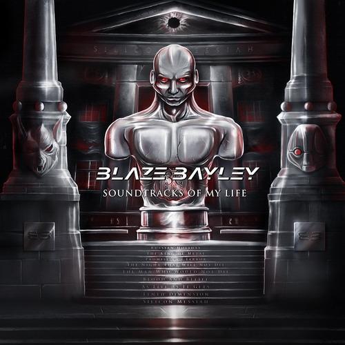Cd Blaze Bayley-soundtracks Of My Life 2cds* Ex Iron Maiden Original