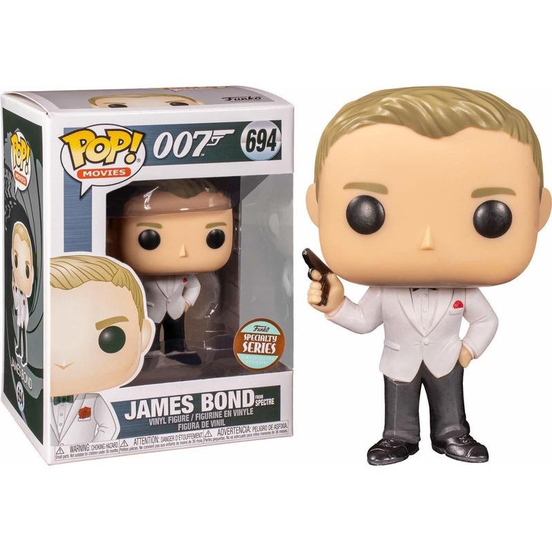 Funko Pop James Bond #694 - Specialty Series 007 Spectre  - Movies