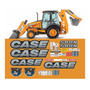 Kit Adesivo Completo Retroescavadeira Case 580n Etiquetas
