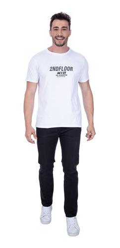 Camiseta Second Floor Speed Division Ellus - Branca Original