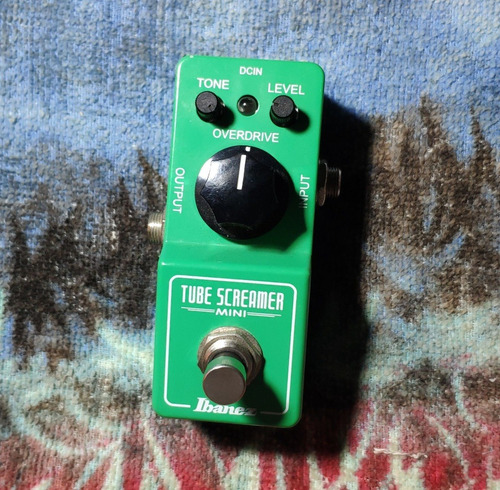 Ibanez Tube Screamer Mini Made In Japan - Willaudio Original