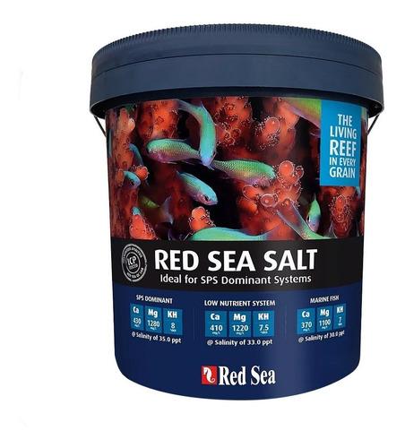 Red Sea Salt 7kg Sal Para Aquário Marinho Faz 210l De Água Original