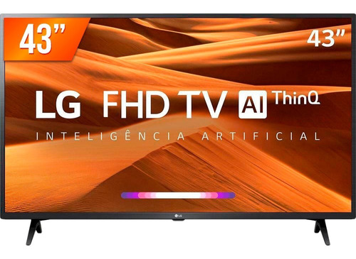 Smart Tv Led Pro 43'' Full Hd LG 43lm 631 3 Hdmi 2 Usb Wifi Original