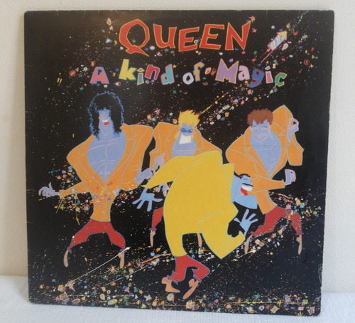 Disco De Vinil - Queen - A Kind Of Magic - C/encarte 1986
