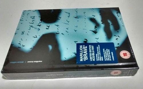 Marillion-brave (deluxe Edition) Cd + Blu-ray, Box-set