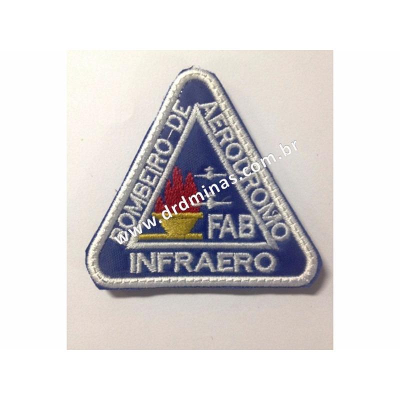 Patch / Distintivo Bordado INFRAERO - II - U